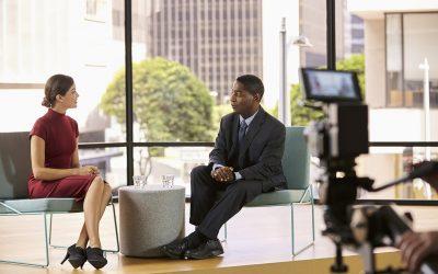 L'utilisation pertinente des interviews filmées pour votre entreprise
