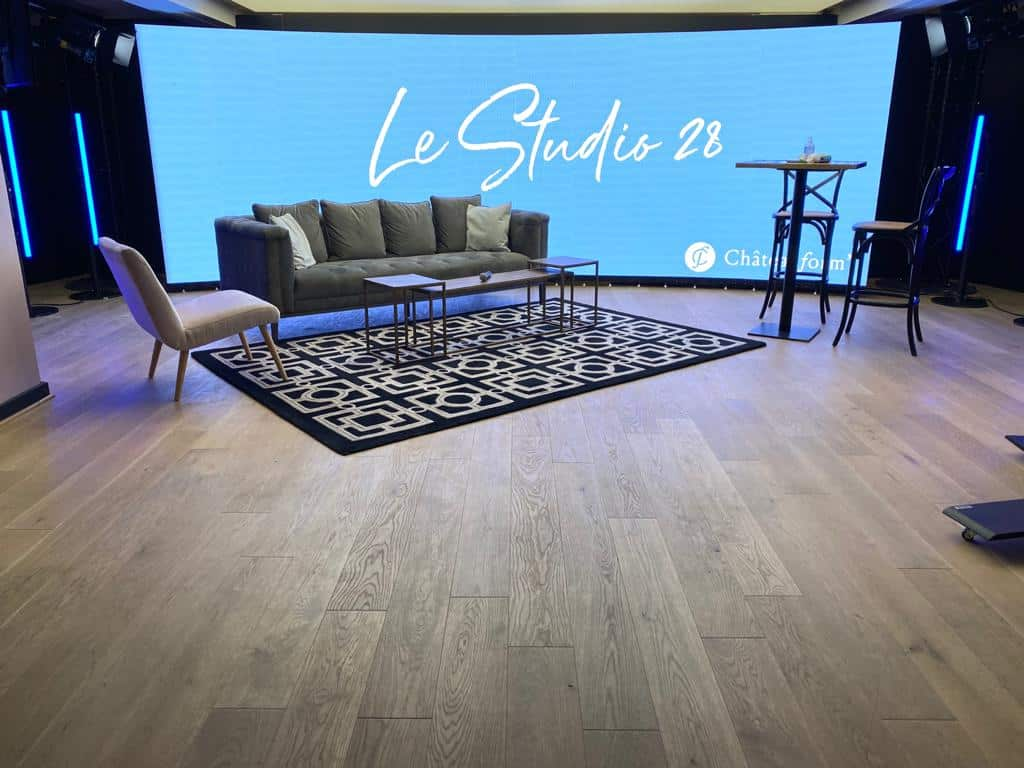 Studio 28 - Plateau TV streaming Chateauform'