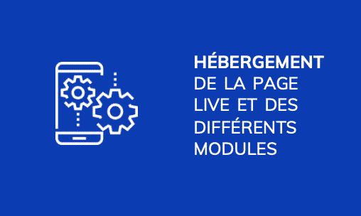 Nos prestations - Solutions streaming - Hébergement Page Live